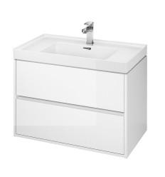 Szafka z umywalką biały 80 Crea Cersanit (S801-279)