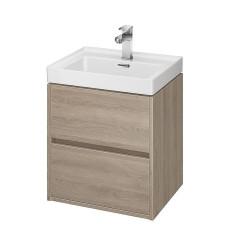 Szafka z umywalką dąb 50 Crea Cersanit (S801-287)