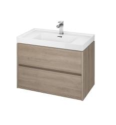 Szafka z umywalką dąb 80 Crea Cersanit (S801-289)