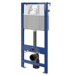 Stelaż podtynkowy z przyciskiem Aqua 52 Pneu S QF Cersanit (S701-331)