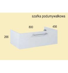 Szafka pod umywalkę 80 Roma white Elita (1110101)