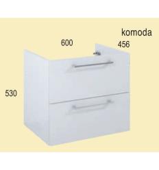 Komoda 60 Roma white Elita (1110161)