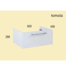 Komoda 60 Roma white Elita (1110158)