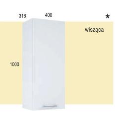 Szafka wisząca 40 Roma white Elita (1110104)