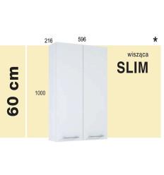 Szafka wisząca 60 Slim Roma white Elita (1110113)