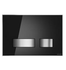 Przycisk mechaniczny szkło białe Movi Cersanit (S97-012)