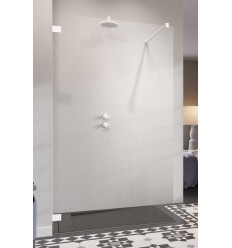 Ścianka prysznicowa 50 Essenza Pro Walk-in White Radaway (10103050-04-01)