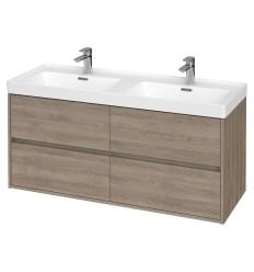 Szafka z umywalką dąb 120 Crea Cersanit (S931-003 + K673-006)
