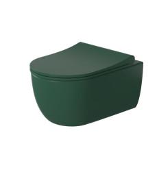 Miska WC wisząca Molis Green Slim Duro Massi (MSM-0013RIMSLIM-GR)