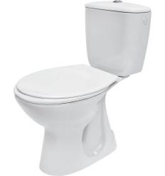 WC kompakt PRESIDENT 020 z deską duroplastową, antybakteryjną President Cersanit (K08-039)
