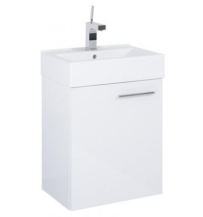 Zestaw umywalka ceramiczna Tiny 45 + szafka podumywalkowa Tiny White(165072)
