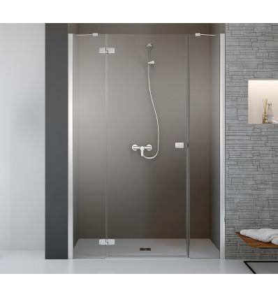 Drzwi prysznicowe 140 Fuenta New DWJS Radaway (384033-01-01L + 384090-01-01)
