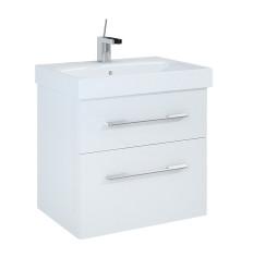 Szafka z umywalką 60 Barcelona White Elita (164343 + 145073)