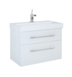 Szafka z umywalką 80 Barcelona White Elita (164344 + R19860)