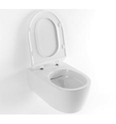 Miska WC podwieszana + deska wolnoopadająca Doto Pure Rim 54 Excellent (CEEX.1404.545.WH)