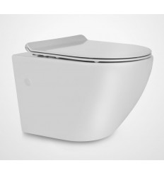Miska wisząca WC z deską Slim Decos Mini Rimless Massi (MSM-0003SLIM)