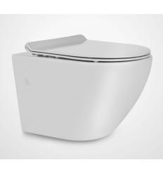 Miska wisząca WC z deską Slim Decos Mini Rimless Massi (MSM-0003SLIM) Dostępny na magazynie, wysyłka 24h