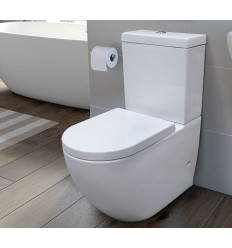 Kompakt WC Duro z deską Decos Massi (MSK-2673ADU)