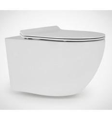 Miska wisząca WC z deską SlimDuro Decos Slim Rimless Massi (MSM-3673RIMSLIM)