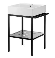 Konsola łazienkowa z umywalką Temisto 50x40 Deante (CDTS6U4S)