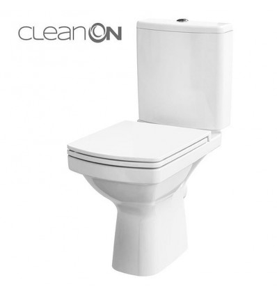Kompakt WC Clean On z deską Easy Cersanit (K102-028)