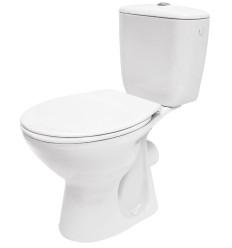 WC kompakt z deską polipropylenową 3/6l 010 President Cersanit (K08-028)