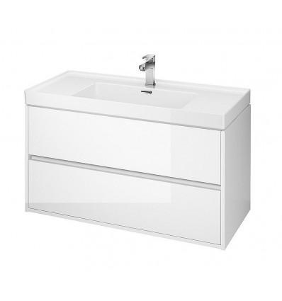 Szafka pod umywalkę biały 100 Crea Cersanit (S924-021)