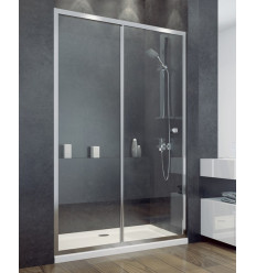 Drzwi prysznicowe 140 Duo Slide Besco (DDS-140)