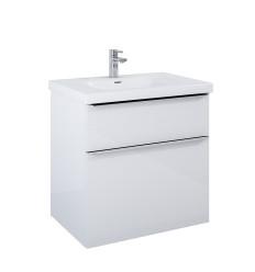 Szafka z umywalką 70 Lofty White Elita (167026 + 145370)