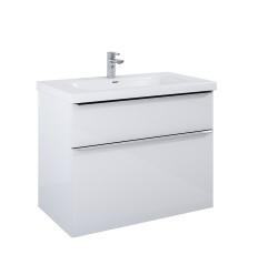 Szafka z umywalką 90 Lofty White Elita (167027 + 145300)