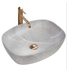 Umywalka nablatowa 50 Freja Grey Rea (REA-U6648)